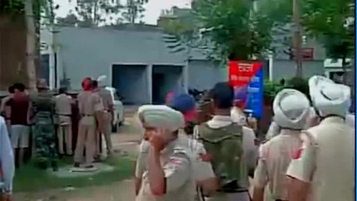 """Punjab police personne; engaged in counter-terrori operations after the attack in&nbsp;Gurdaspur. (Photo Courtesy: <a href=""""https://twitter.com/ani_news"""">Twitter/ANI_News</a>)"""