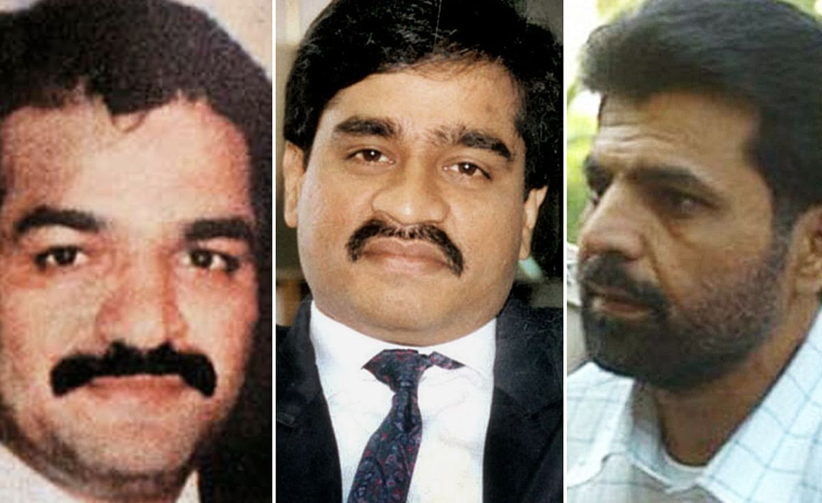 Yakub Memon (R) has been sentenced to death for arranging finances and air tickets for the accused. His brother Tiger Memon (L) and Dawood Ibrahim (centre) are the masterminds of the terror attack and remain at large.