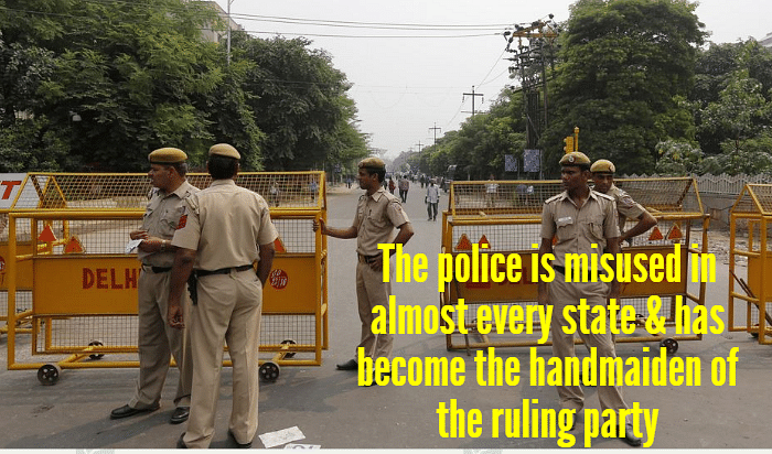 TheAAP government has not concealed its ambition to take charge of Delhi Police. (Photo: Reuters)