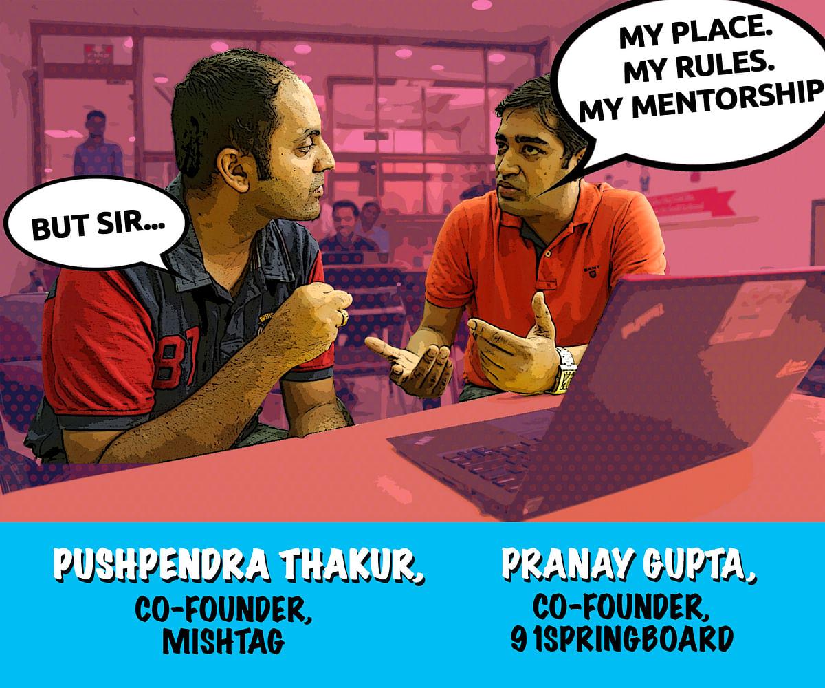 Pushpendra Thakur, Co-Founder, Mishtag and Pranay Gupta, Co-Founder, 91springboard