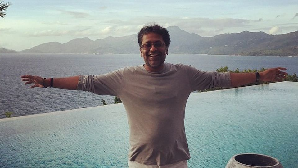 "Lalit Modi at Four Seasons Resort in Seychelles. (Photo Courtesy: <a href=""https://instagram.com/p/xCBuhVs7ST/?taken-by=lalitkmodi"">Lalit Modi's Instagram Profile</a>)"
