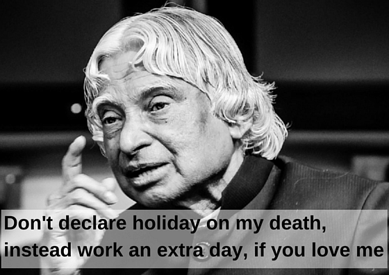 11 Quotes By APJ Abdul Kalam That Are Truly Inspirational