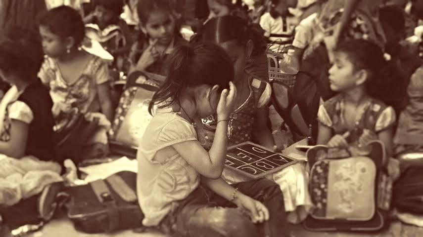 Children at The Alpha School. (Photo: <i>The News Minute</i>)