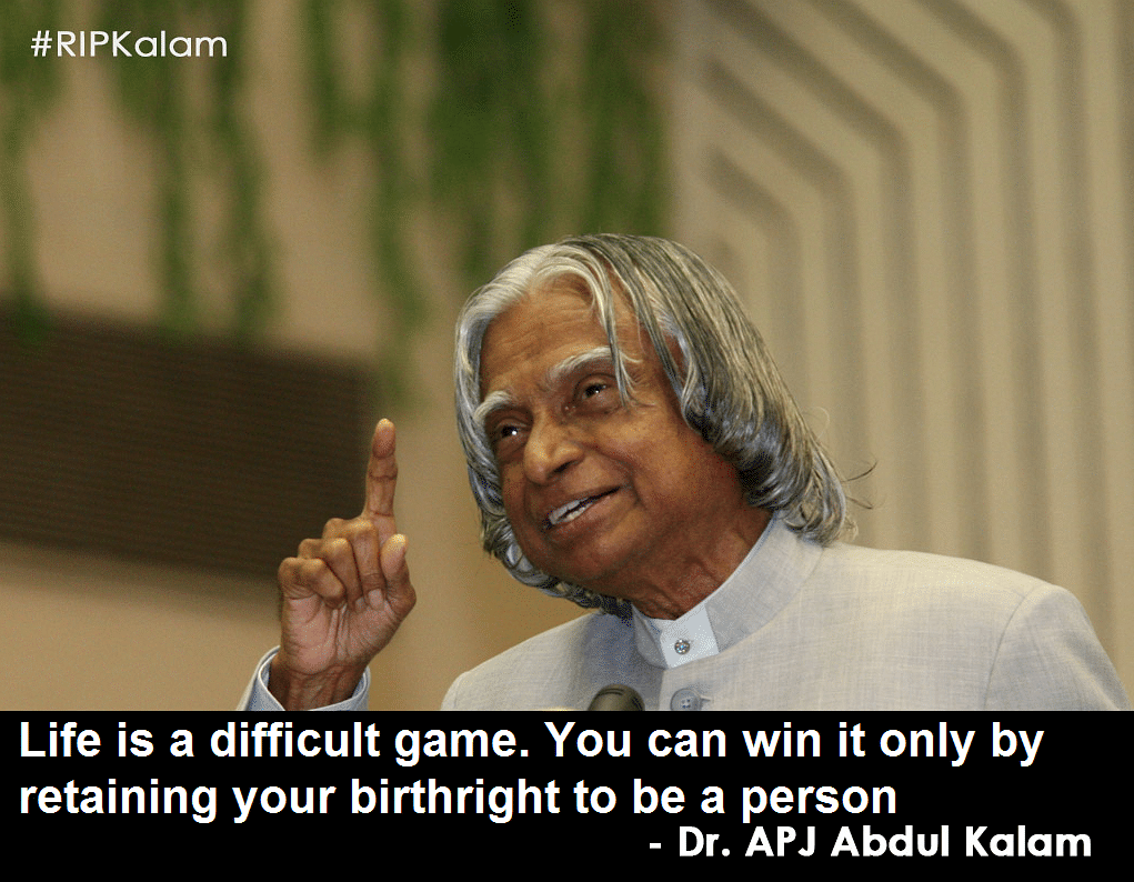 Farewell Dr Kalam, the Visionary Who Will Never Cease to Inspire