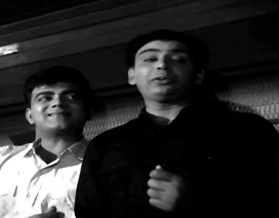 Mehmood with IS Johar in <i>Johar Mehmood in Goa</i>