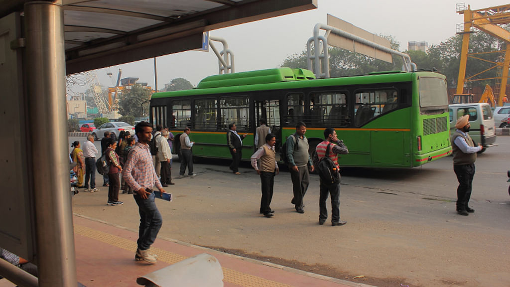 Bus in Delhi. (Photo: iStock)