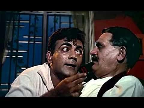 Mehmood and Om Prakash in <i>Pyaar Kiye Jaa</i>