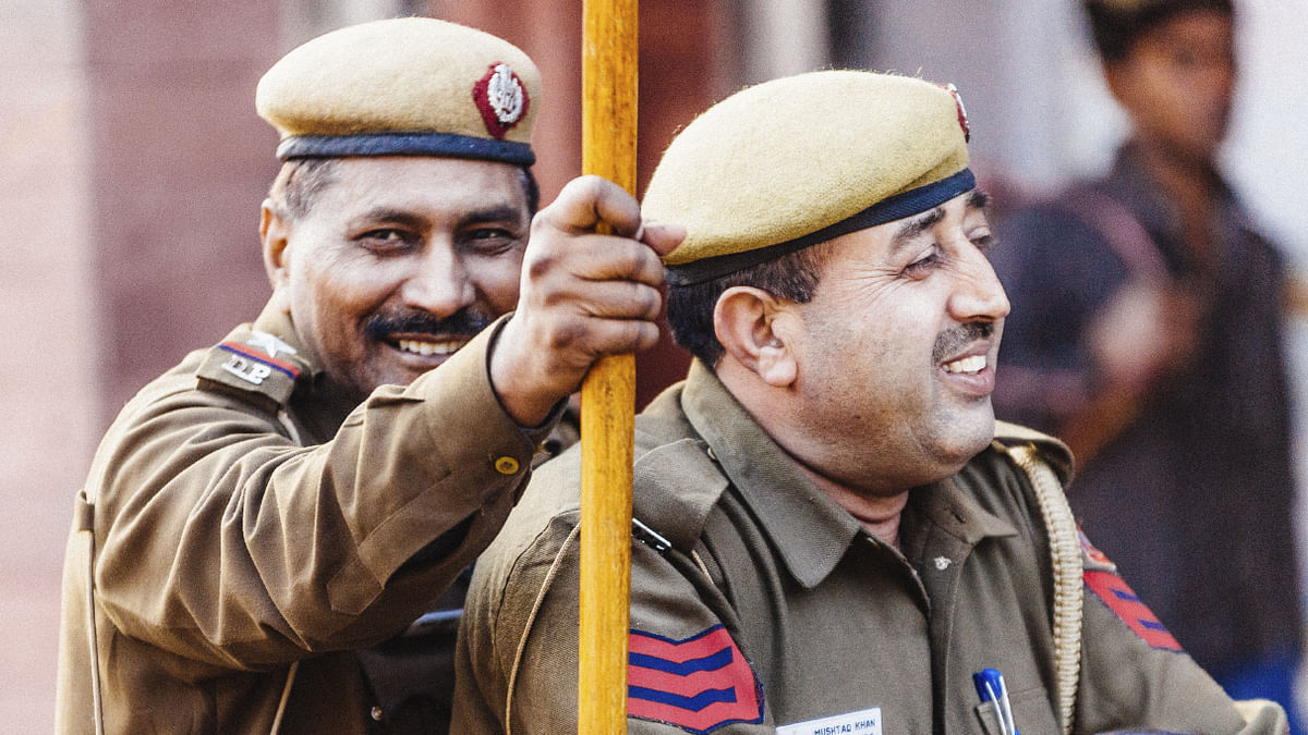 Delhi Police officers in their khaki uniform. (Photo: iStockphoto)