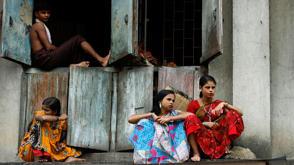 Sex workers photographed in one the country's oldest red light areas in Mumbai 'Kamathipura'. (Photo: Reuters)