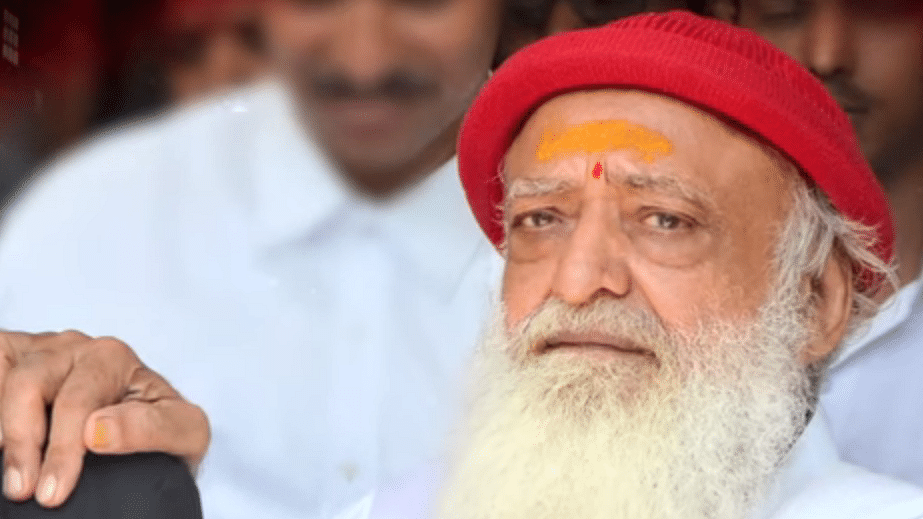 File photo of Asaram Bapu.