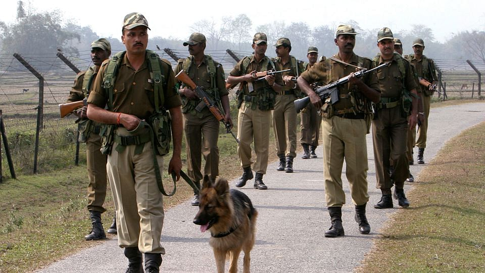 File photo of the Indian Border Security Force. (Photo: Reuters)