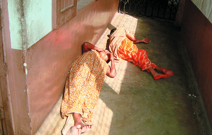 A corridor at the female ward in Lumbini Park Mental Hospital, Kolkata (Photo: PTI)