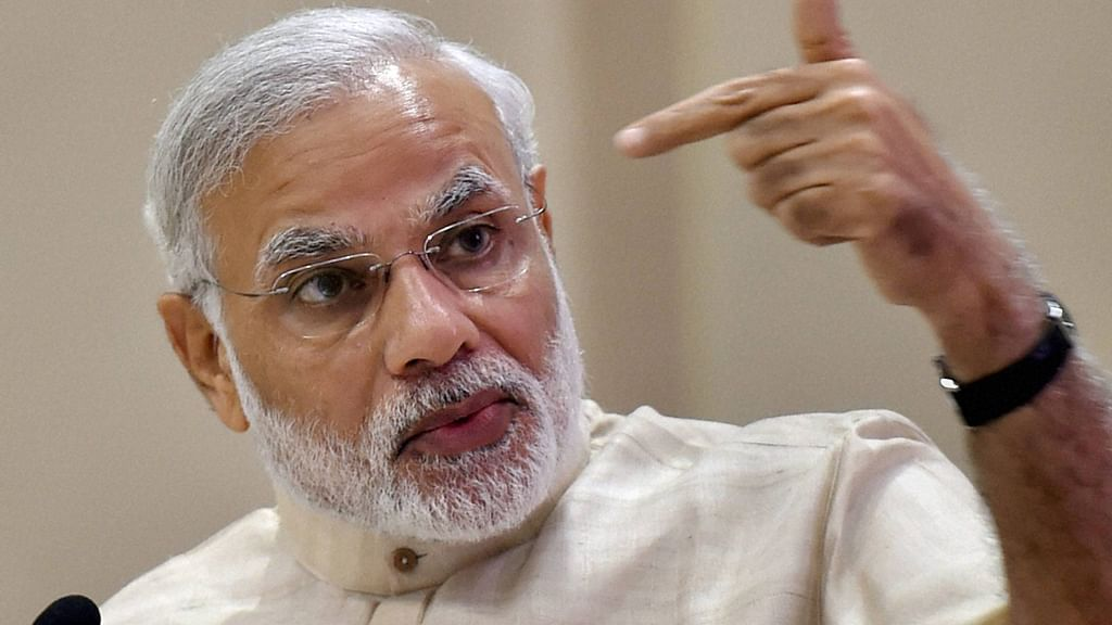 Would be tough for the Centre to push for labour reforms without taking states on board. PM NarendraModi at the 46th Labour Conference. (Photo: PTI)