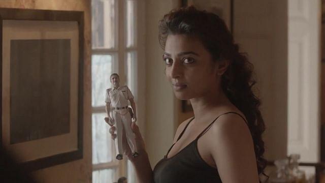 Radhika Apte in a scene from Sujoy Ghosh's short film <i>Ahalya</i>