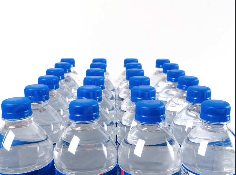 Plastic in bottles is also permeable, so water shouldn't be stored near pesticides and gasoline. (Photo: iStock)