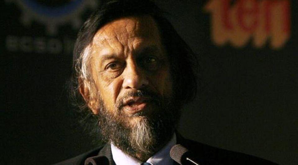 DrR K Pachauri (File Photo: PTI)