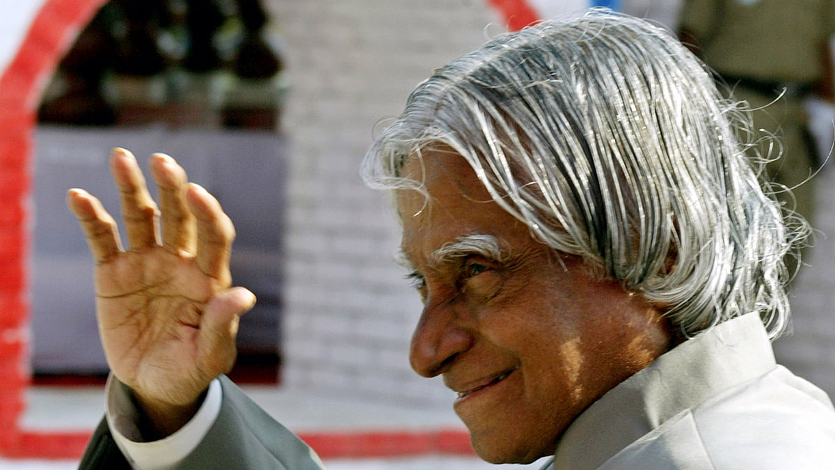 Dr APJ Abdul Kalam, former President of India. (Photo: Reuters)