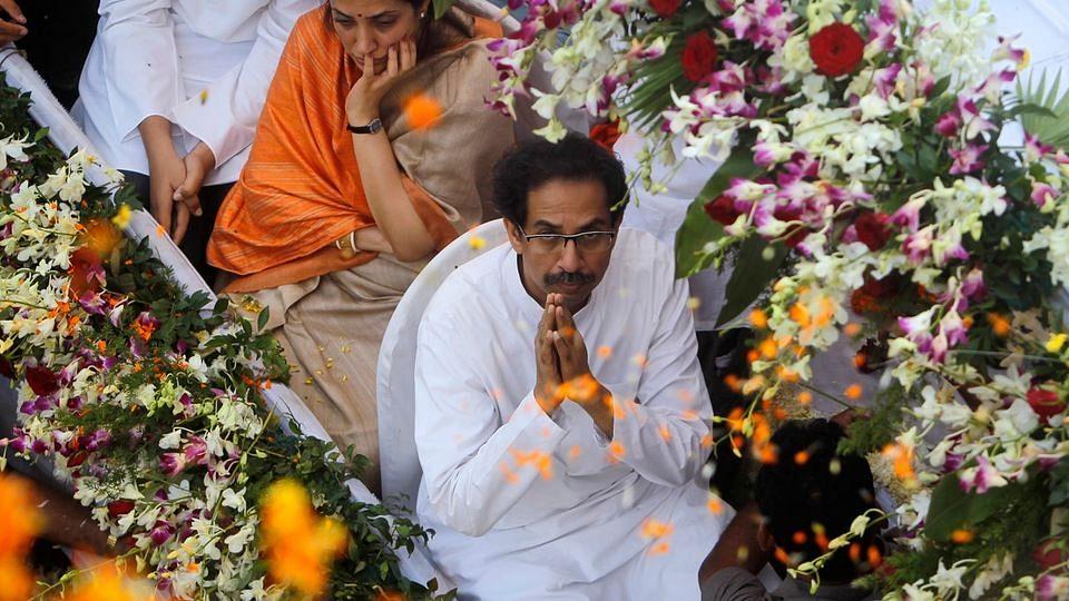 Shiv Sena chief Uddhav Thackeray (Photo: Reuters)