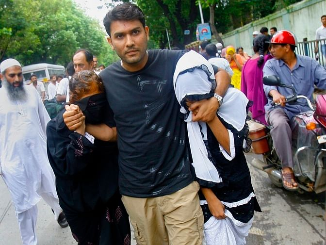 Yakub's family outside the court in 2007. (Photo: Reuters)