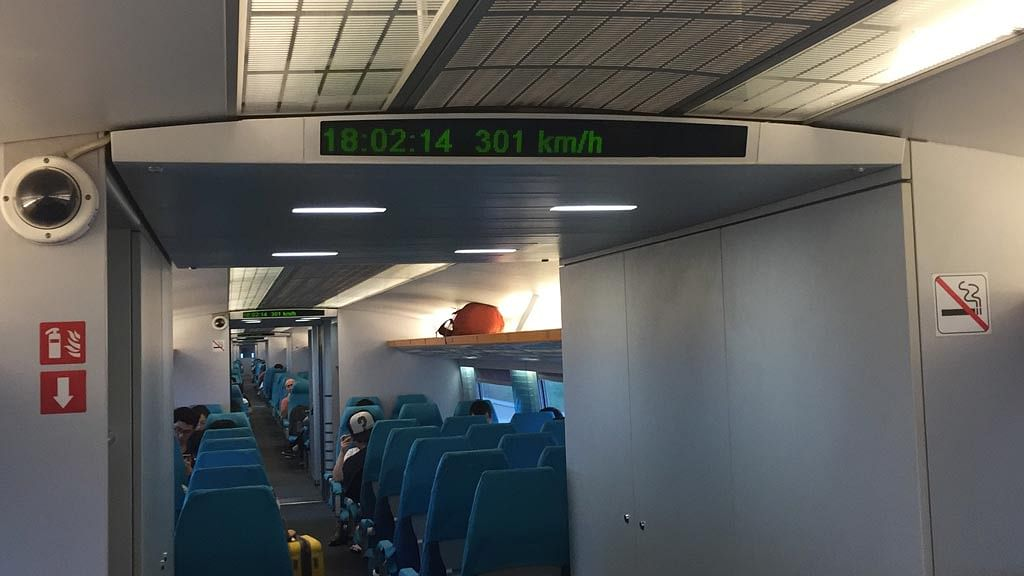 Shanghai Maglev's top speed from 1600 hrs to 2140 hrs is restricted to 301 km/h. (Photo: The Quint)