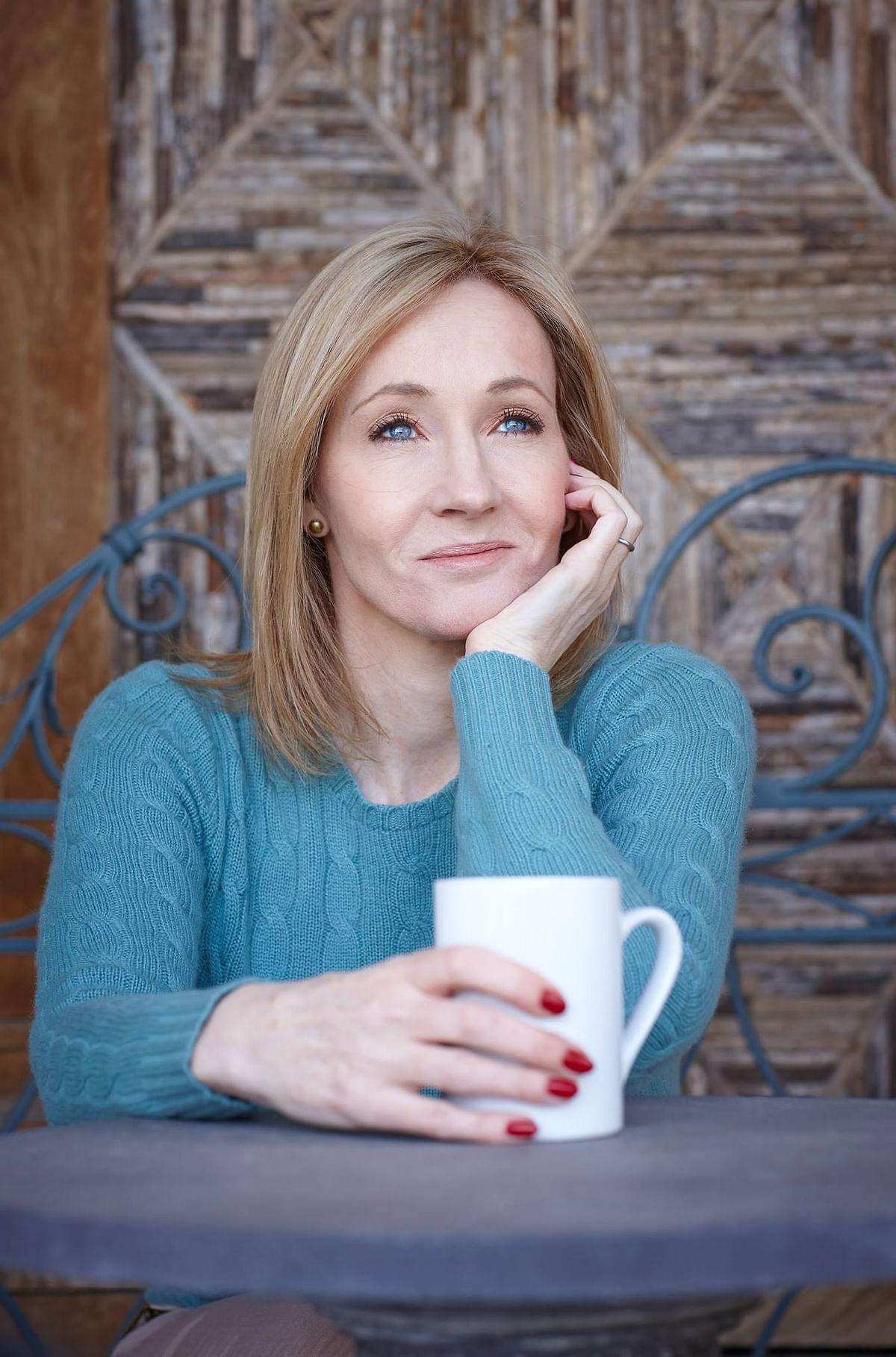 "(Photo Courtesy: <a href=""https://www.facebook.com/JKRowling?fref=ts"">Facebook/J.K. Rowling</a>)"
