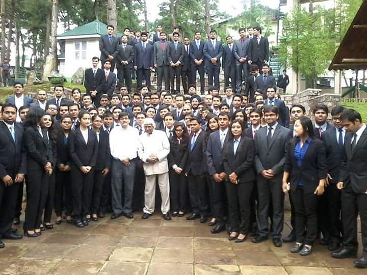 IIM SHILLONG put this pic on their FB page on 11 th July. He was their guest faculty speaker for the third consecutive  year. Photo: @IIM Shillong via Facebook