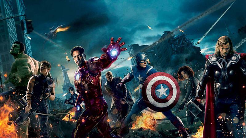 Poster of <i>The Avengers</i>