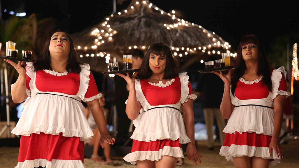 Ram Kapoor, Saif Ali Khan and Riteish Deshmukh get in touch with their feminine side in <i>Humshakals</i>