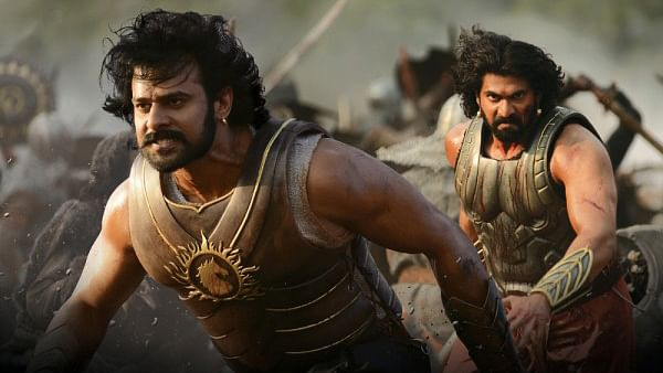 Prabhas and Rana Daggubati in <i>Baahubali. </i>(Photo courtesy: YouTube Screenshot)
