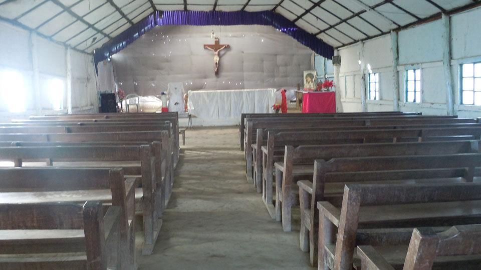 Church interior of Oinam. (Photo: Maitreyee Handique)