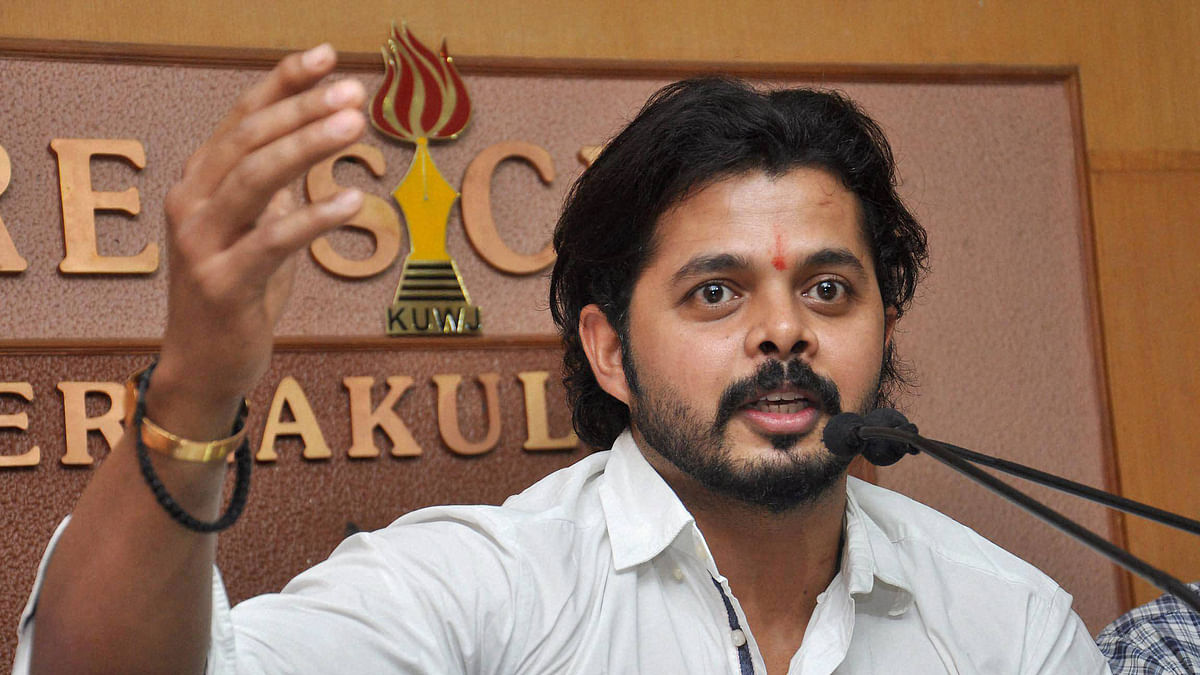 Aim to Finish My Career With 100 Test Wickets: Sreesanth