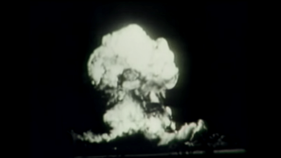 """70 Years Ago, First Atomic Bomb Tested in US (Photo: YouTube/<a href=""""https://www.youtube.com/watch?v=eo0s-COpaGI"""">AP</a>)"""