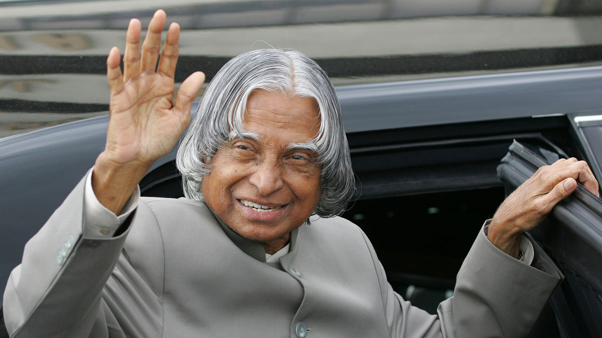 Dr APJ Abdul Kalam, former President of India passed away today. (Photo: Reuters)