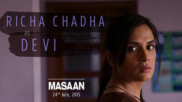 Richa Chadha in Masaan. (Photo: Twitter/@MasaanTheFilm)