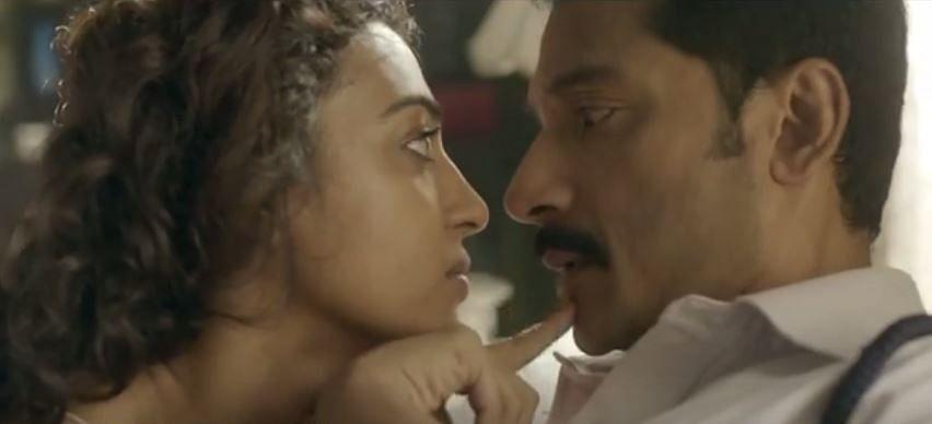Radhika Apte and Tota Roy Choudhury in <i>Ahalya</i>