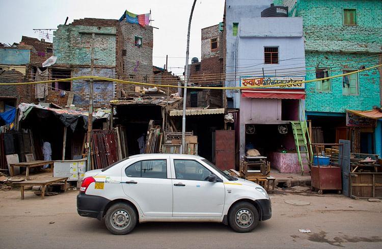 Uber cab in New Delhi. (Photo: AP)