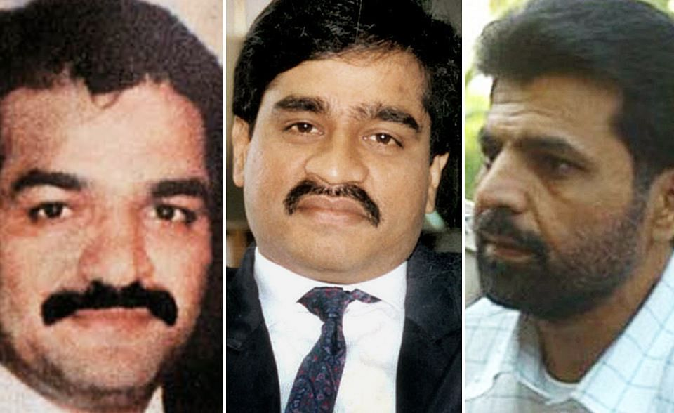 Yakub Memon (R) has been sentenced to death. He has been convicted for his involvement in the 1993 Mumbai blasts. His brother Tiger (L) and Dawwod Ibrahim (centre) were masterminds of the terror attack,