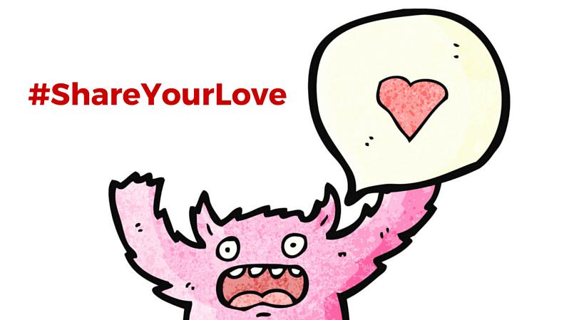 #ShareYourLoveChallenge