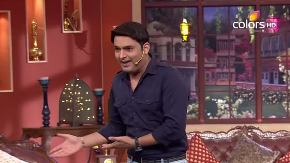 "Kapil Sharma on <i>Comedy Nights with Kapil.</i> (Photo Courtesy: YouTube/<a href=""https://www.youtube.com/channel/UCyfkoMQeJOoEt3ZhY3PI6Uw"">Comedy Nights With Kapil</a>)"