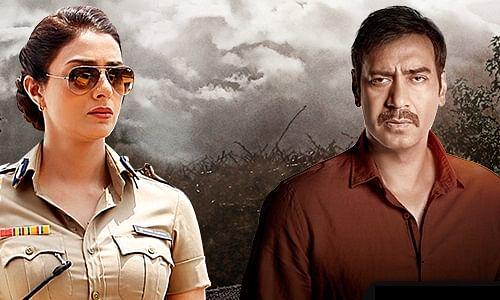 Tabu and Ajay Devgn in a publicity still from&nbsp;<i>Drishyam</i>