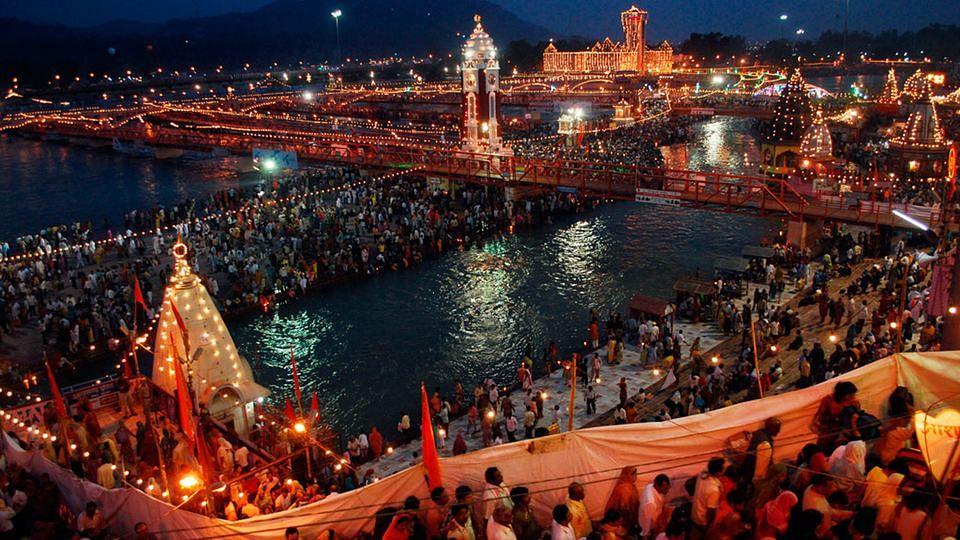 File image of Kumbh Mela celebrations.