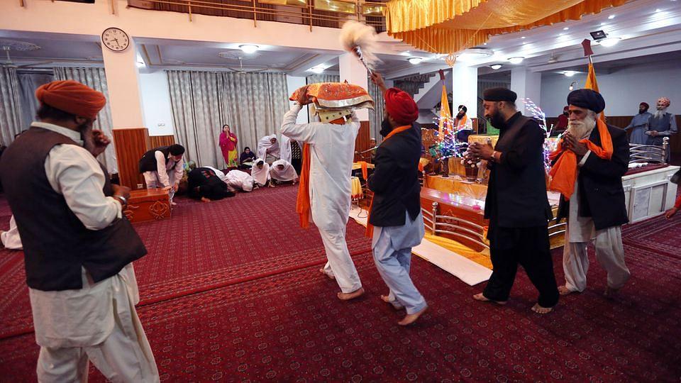 Sikhs praying in a Gurudwara. Photo used for representational purpose. (Photo: AP)