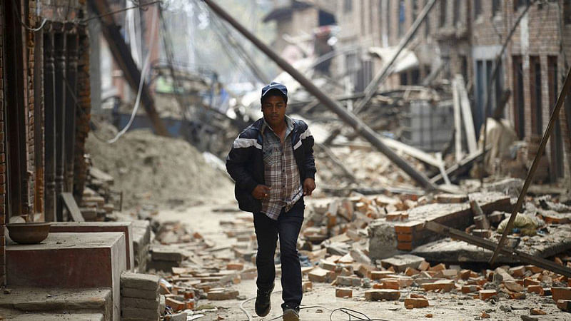 Nepal Earthquake: When the Nation Turned Into a Cemetery