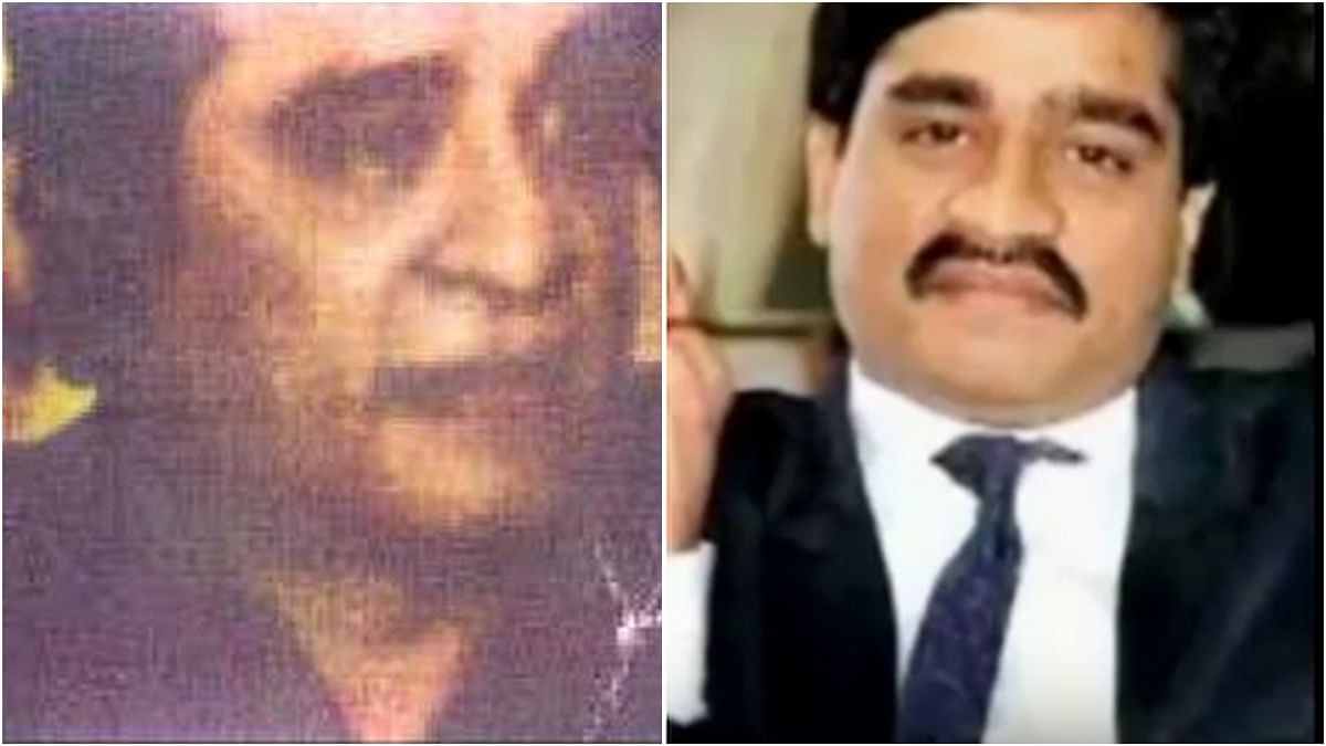 Dawood Ibrahim latest picture published by <i>Hindustan Times</i> (L), an older picture of him (R)