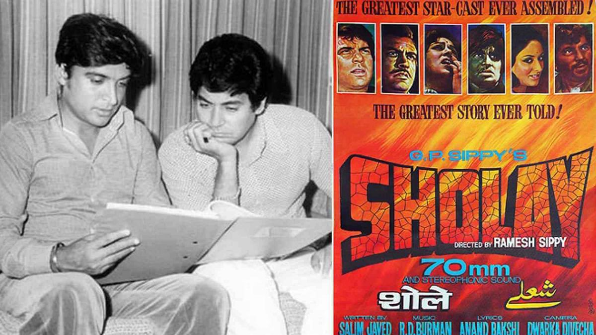 Revisit 40 Years of 'Sholay' With the Iconic Salim-Javed