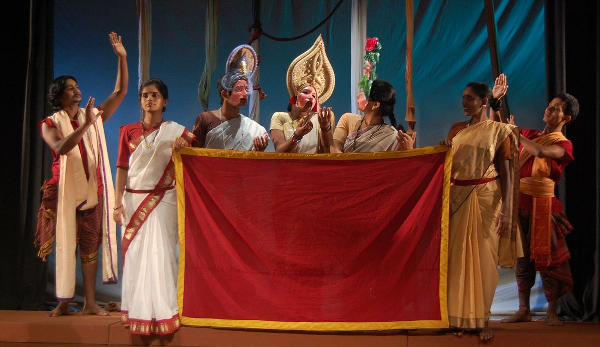 Uttararama Charitha performed by the Tirugata. (Photo: Ninasam)