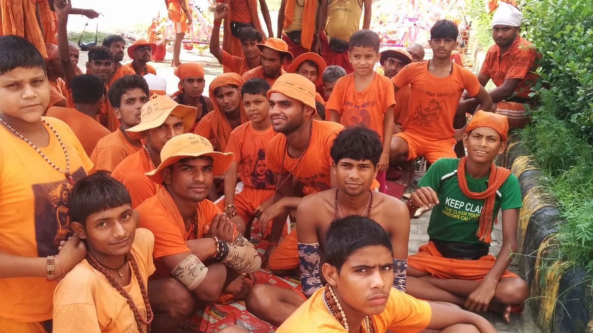 There has been a surge in the number of youths participating in the <i>kanwar yatra </i>over the years.