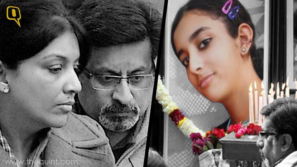 Rajesh and Nupur Talwar were earlier convicted for the murder of their daughter, Aarushi. <i>(Photo: Altered by <b>The Quint</b>) </i>