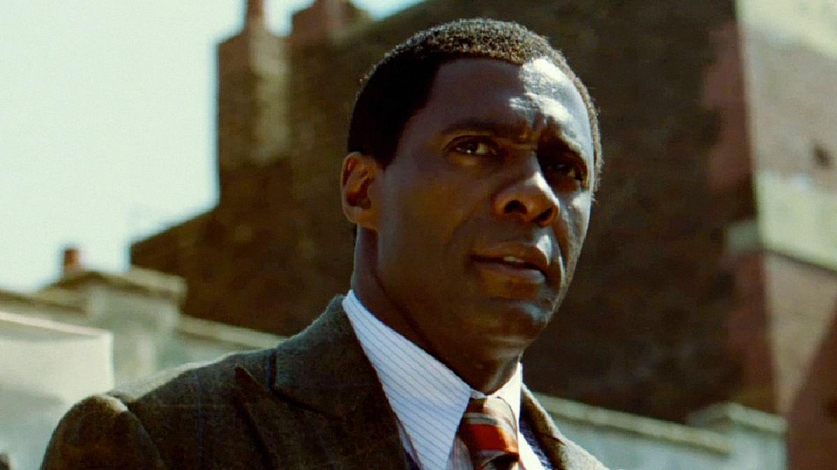 Idris Elba as Nelson Mandela in <i>Mandela: Long Walk to Freedom.</i>