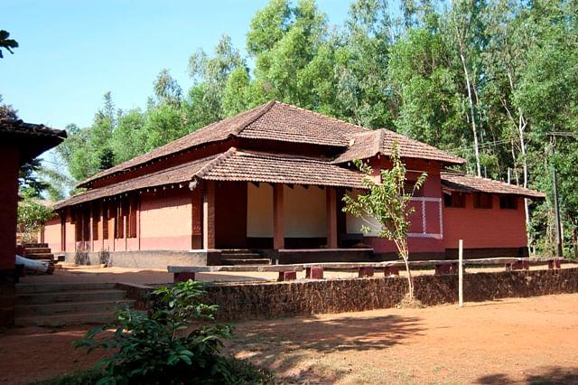 Heggodu's mini theatre (Photo: Ninasam)